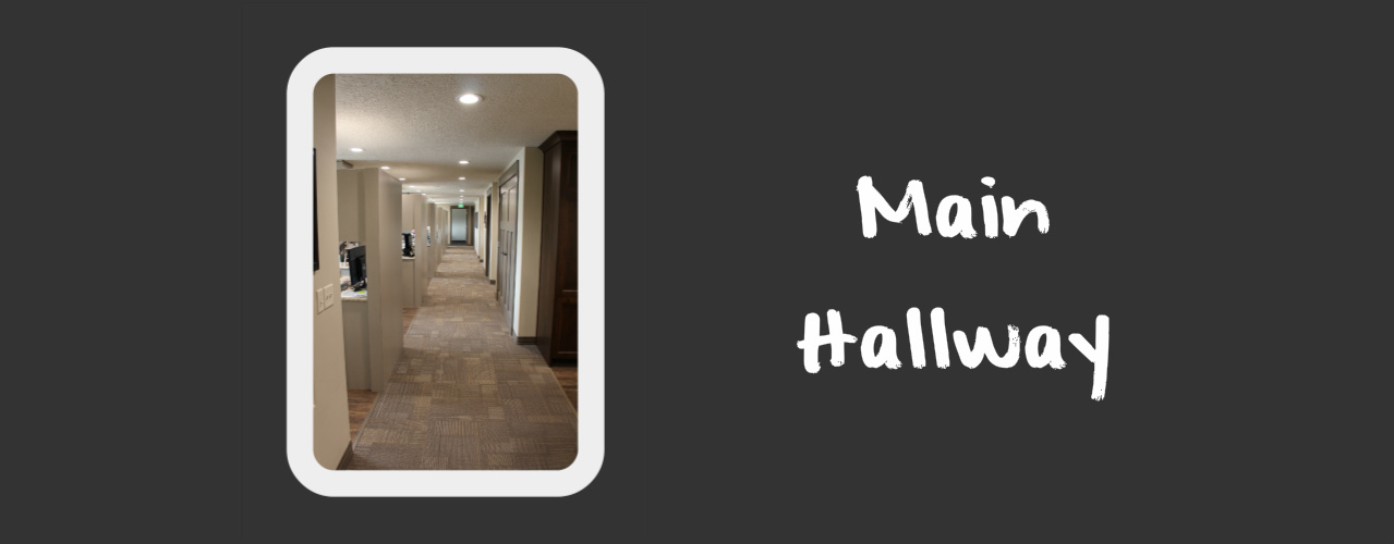 Main Hallway at Baldwin Family Dental in Logan UT