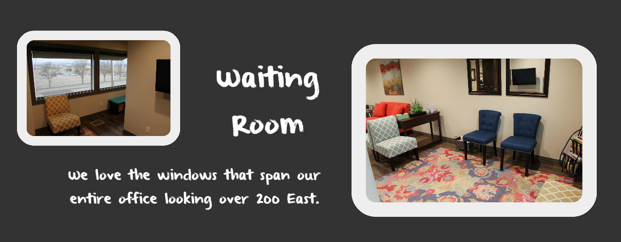 Waiting Room Best Dentist in Logan Utah