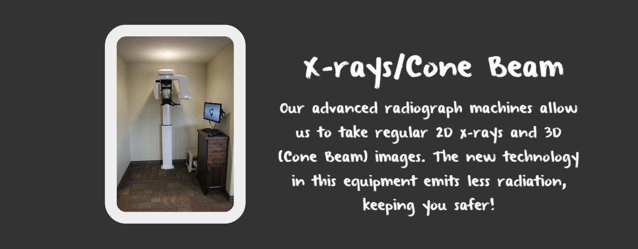 X-Rays/Cone Beam room in Logan, UT