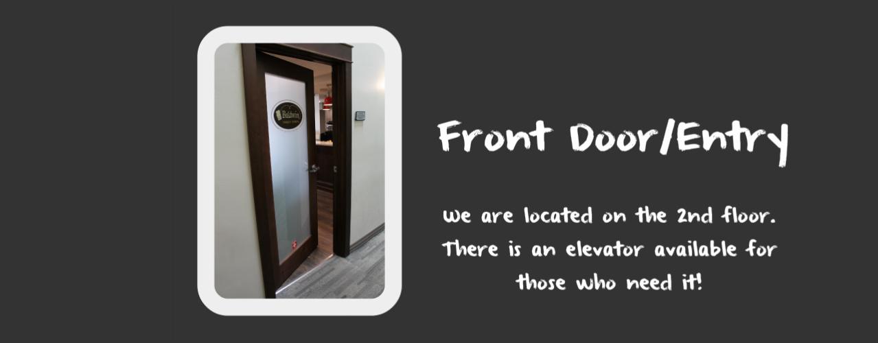 Cache Valley Dentist Front Door
