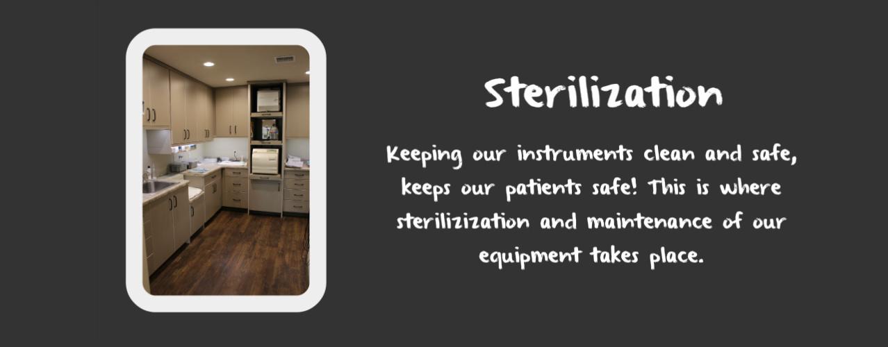 Dentist in Logan Sterilization & Cleaning