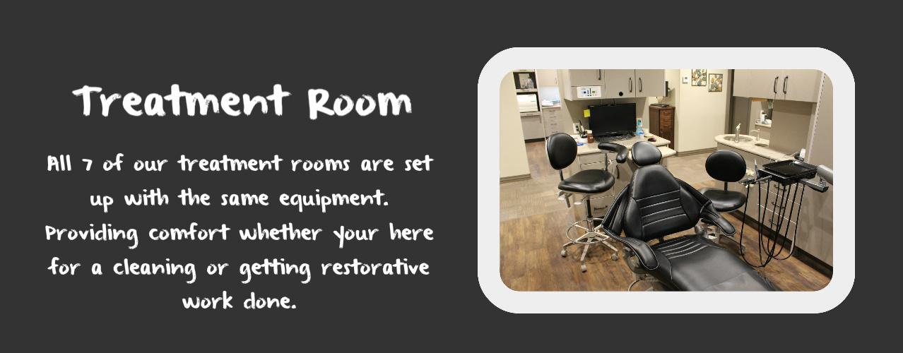 Treatment Room at Baldwin Family Dental