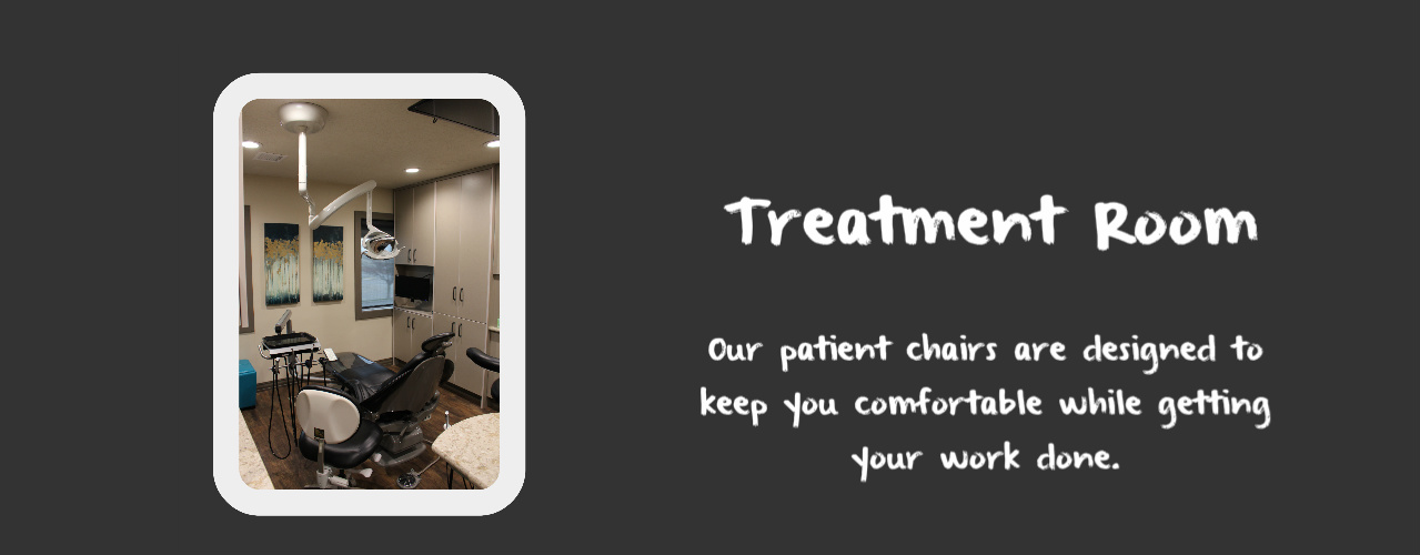 Patient Treatment Room at your Dentist in Logan UT